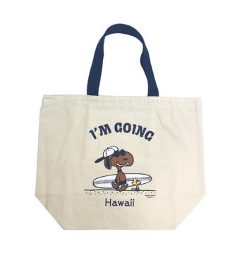 【SURF'S UP PEANUTS】TOTE BAG SMALL / I'M GOING