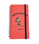 【SURF'S UP PEANUTS】NOTEBOOK / HULA DANCERS