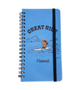 【SURF'S UP PEANUTS】NOTEBOOK / GREAT RIDE