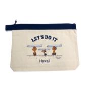 【SURF'S UP PEANUTS】POUCH (L) / LET'S DO IT