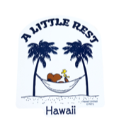 【SURF'S UP PEANUTS】STICKER / A LITTLE REST