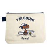 【SURF'S UP PEANUTS】POUCH (S) / I'M GOING