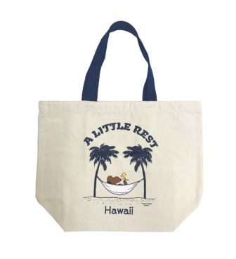 【SURF'S UP PEANUTS】TOTE BAG SMALL / A LITTLE REST