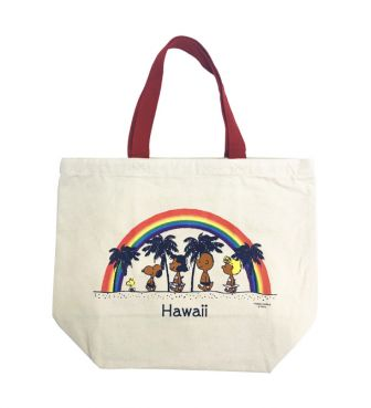 【SURF'S UP PEANUTS】TOTE BAG SMALL / RAINBOW