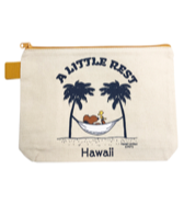 【SURF'S UP PEANUTS】POUCH (S) / A LITTLE REST