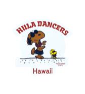 【SURF'S UP PEANUTS】STICKER / HULA DANCERS